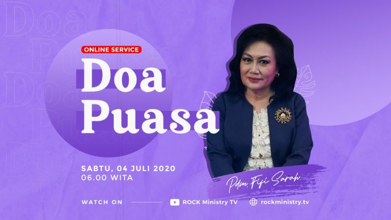 Doa Puasa (Online Service) Pdm. Fifi Sarah Yasaputra (05 Juli 2020)