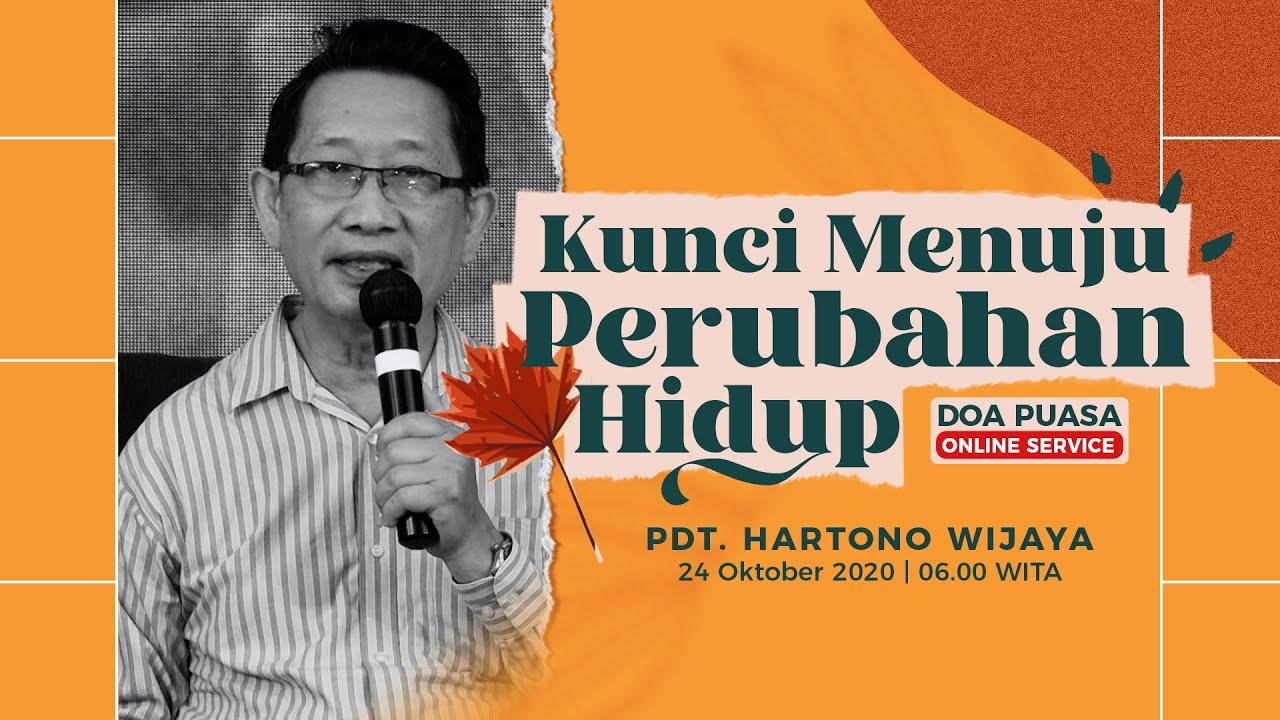 Doa Puasa (Online Service) - Kemurnian Hati - Pdt. Hartono Wijaya (25 Oktober 2020)