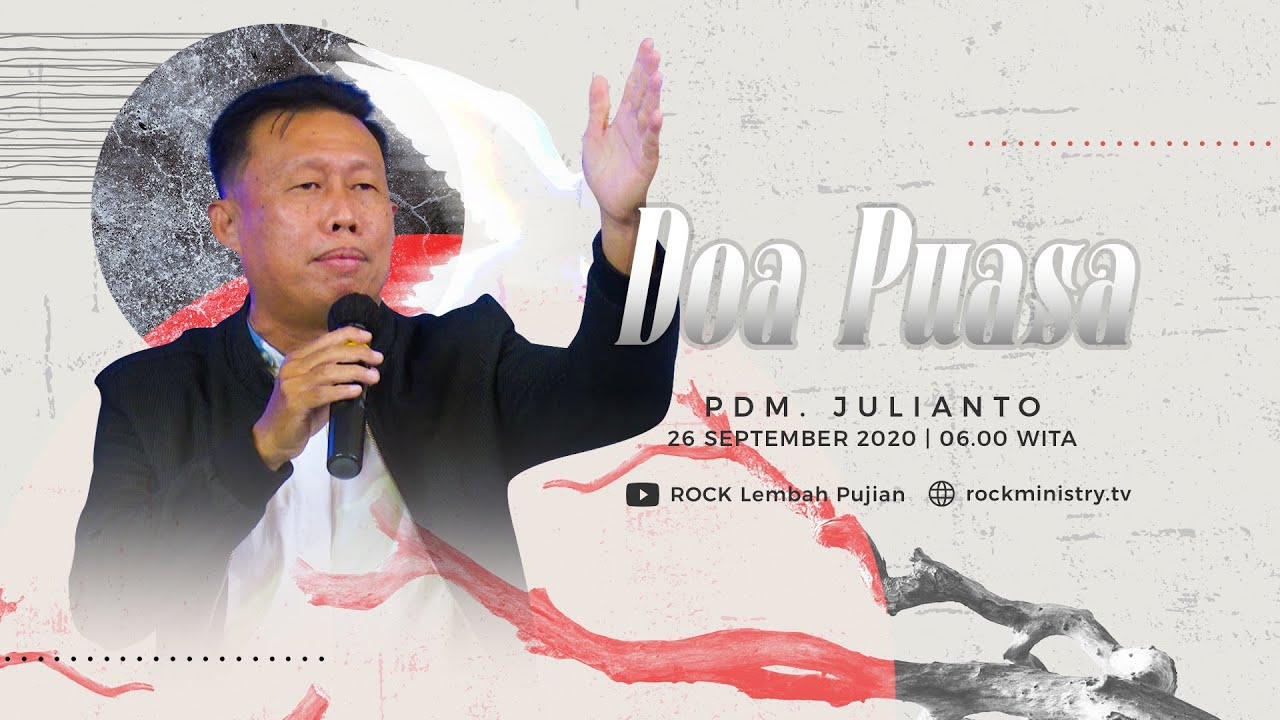 Doa Puasa (Online Service) - Pdm. Julianto (26 September)