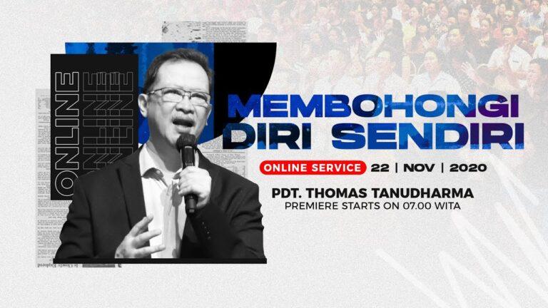 Kingdom Celebration - Membohongi Diri Sendiri - Pdt. Thomas Tanudharma (22 November 2020)